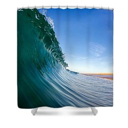 Shower Curtain featuring the photograph Surface by Sean Foster