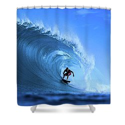 Surfer Boy Shower Curtain by Movie Poster Prints