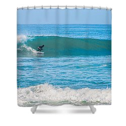 Surfing Shower Curtain