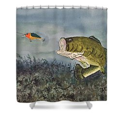 Surprise Coming Shower Curtain