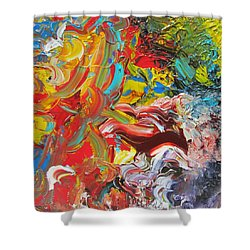 Surprise Shower Curtain by Ralph White