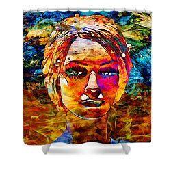 Shower Curtain featuring the photograph Surreal Dream - Chuck Staley by Chuck Staley