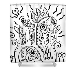 Surreal Eyes Shower Curtain