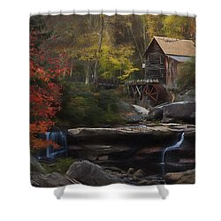 Surreal Glade Creek Shower Curtain
