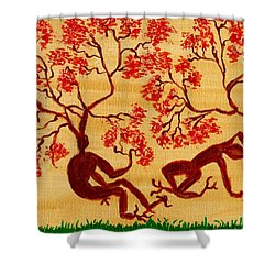 Surreal In Color Shower Curtain