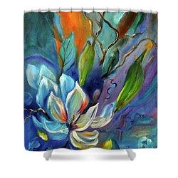 Surreal Magnolias Shower Curtain