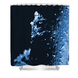 Surreal Moringa Tree Shower Curtain by Gina O'Brien