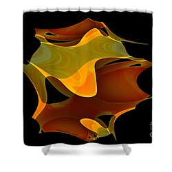 Surreal Shape Shower Curtain by Thibault Toussaint