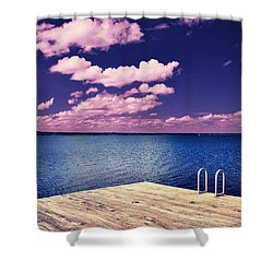 Surreal Solace Shower Curtain
