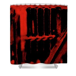 Surreal Staircase Shower Curtain by Gina O'Brien