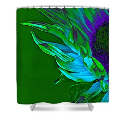 Surreal Sunflower  Shower Curtain