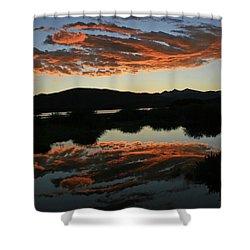 Surreal Sunrise Shower Curtain