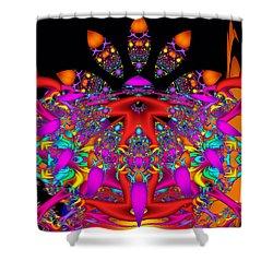 Shower Curtain featuring the digital art Surrender by Robert Orinski
