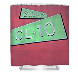 Surrey's Cl-10 Shower Curtain