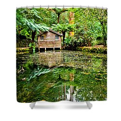 Surrounded By Nature Shower Curtain