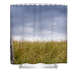 Shower Curtain featuring the photograph That That Same Small Town In Each Of Us by Dana DiPasquale