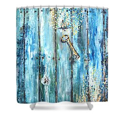 Surviving Time Shower Curtain