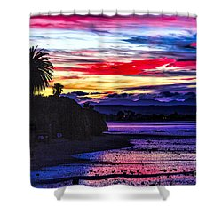 Suset Beach Shower Curtain