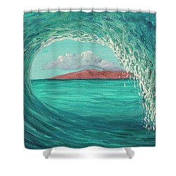 Shower Curtain featuring the painting Suspended In Time by Darice Machel McGuire
