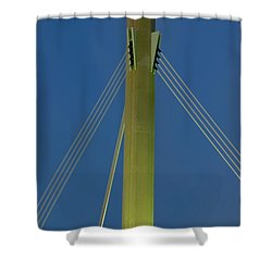 Suspension Pole Shower Curtain