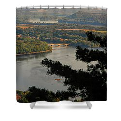 Susquehanna River Below Shower Curtain