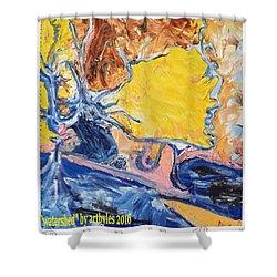 Sussex Waterways  Shower Curtain