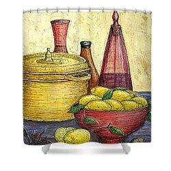 Sustenance Shower Curtain