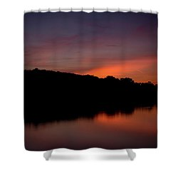 Suwannee Sundown Shower Curtain