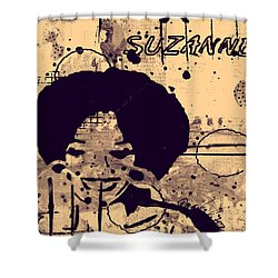 Suzanne Pryor Shower Curtain by Angela L Walker