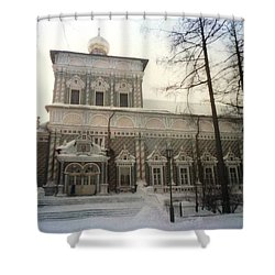 Suzdal  Russia Church Shower Curtain by Ted Pollard