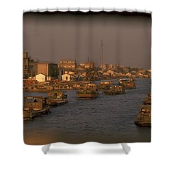 Suzhou Grand Canal Shower Curtain