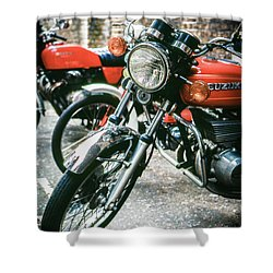 Shower Curtain featuring the photograph Suzuki by Samuel M Purvis III