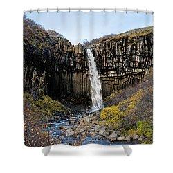 Svartifoss Shower Curtain