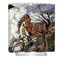 Sw Indian Shower Curtain
