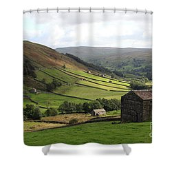 Swaledale  Yorkshire Dales Shower Curtain