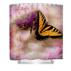 Swallow Tail Full Of Beauty Shower Curtain