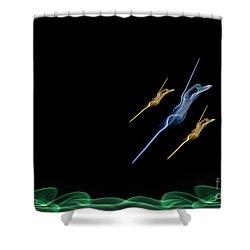 Swallows Shower Curtain