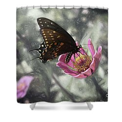 Swallowtail In A Fairytale Shower Curtain