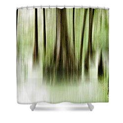 Swamp Shower Curtain by Scott Pellegrin