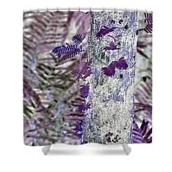Ferns Of A Different Color Shower Curtain