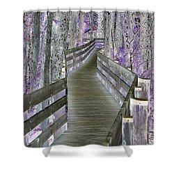 A Clear Path Forward Shower Curtain