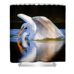Swanlike Shower Curtain