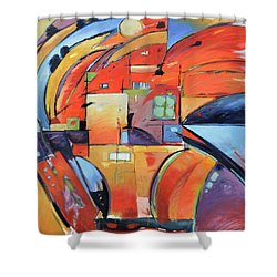 Swaying 2 Shower Curtain