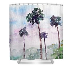 Swaying Palms Shower Curtain