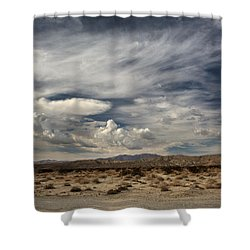 Sweeping Shower Curtain by Laurie Search