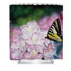 Sweet Abundance Shower Curtain