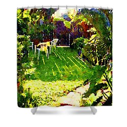 Sweet Afternoon Shower Curtain