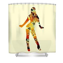 Sweet Shower Curtain by Anastasiya Malakhova