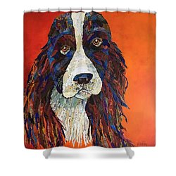 Sweet And Salty Springer Shower Curtain
