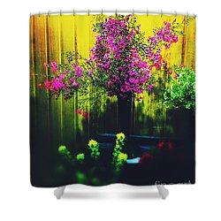 Sweet Boronia Shower Curtain by Blair Stuart